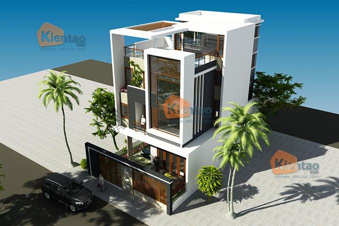 Giới thiệu 3 phong cách thiết kế biệt thự đẹp 2 và 3 tầng bạn nên biết - Biệt thự đẹp 3 tầng hiện đại