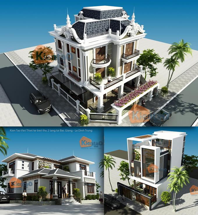 Giới thiệu 3 phong cách thiết kế biệt thự đẹp 2 và 3 tầng bạn cần phải biết