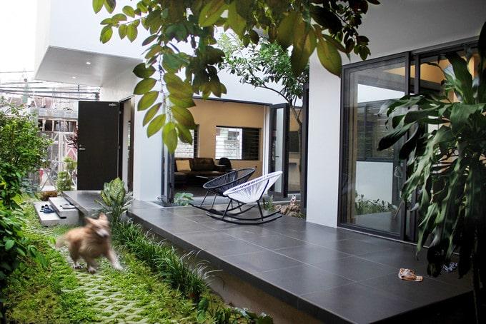 Ý tưởng ngoại thất cực đẹp cho không gian mẫu nhà biệt thự 7