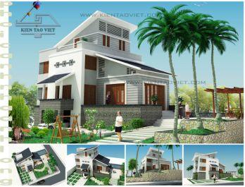 Mẫu biệt thự đẹp tại Hà Nội