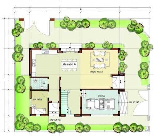 Mẫu thiết kế biệt thự đẹp 3 tầng hiện đại