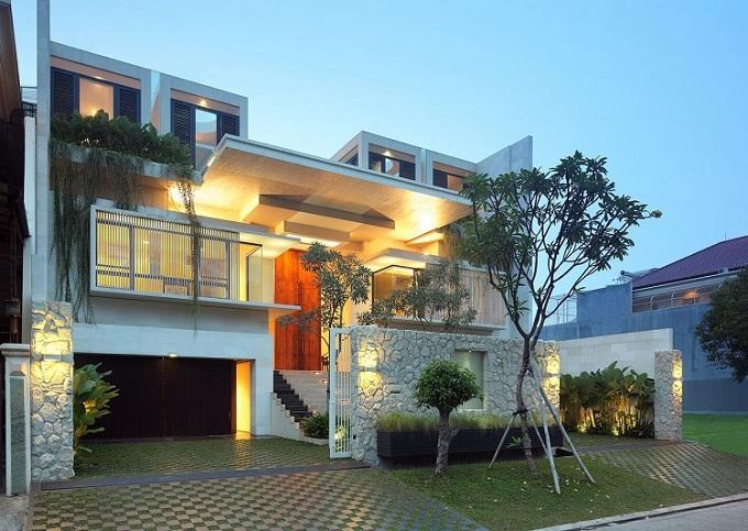 Top 10 mẫu thiết kế biệt thự hiện đại có tầng hầm