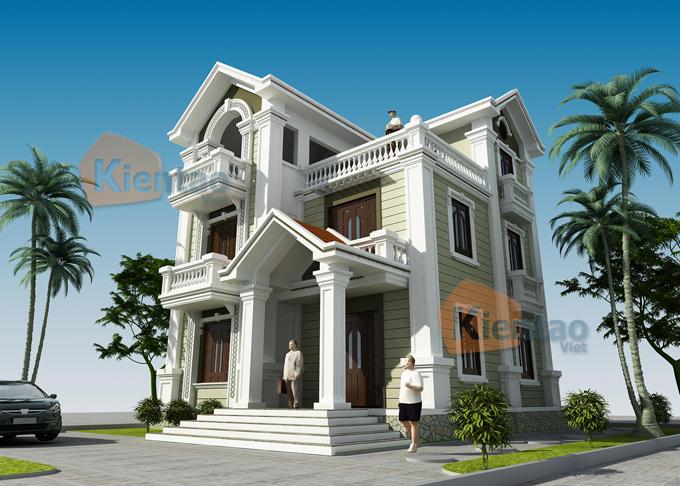 Nhà đẹp 2 tầng kiểu biệt thự
