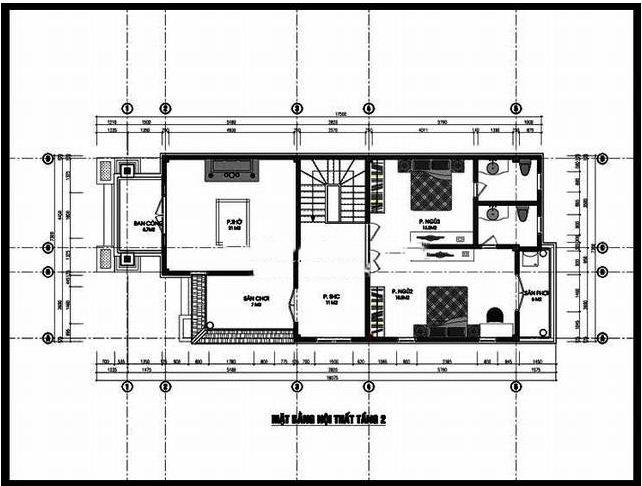 Biệt thự phố 2 tầng hiện đại hợp phong thủy 7x15m. 2