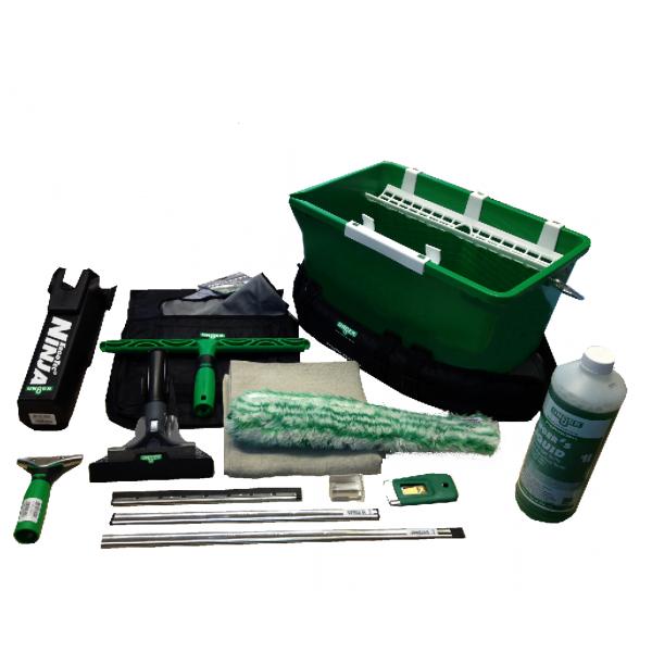 Cách làm sạch cửa kinh cho nhung ngoi biet thu dep - Dụng cụ cần thiết