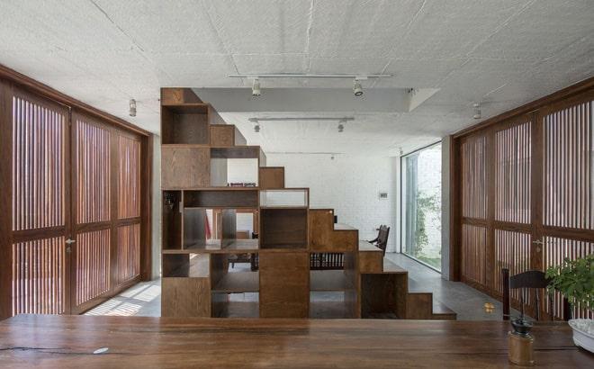 Thiết kế nhà biệt thự cầu thang phong thủy 3