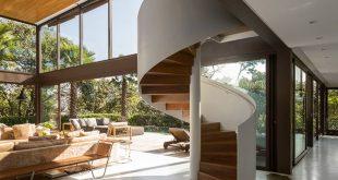 Thiết kế nhà biệt thự cầu thang phong thủy 4