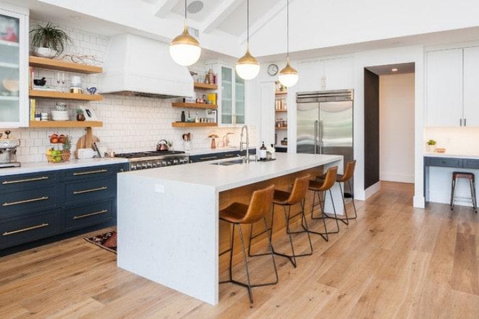 Mẫu bếp dành cho biệt thự hiện đại đẹp mê mẩn 1