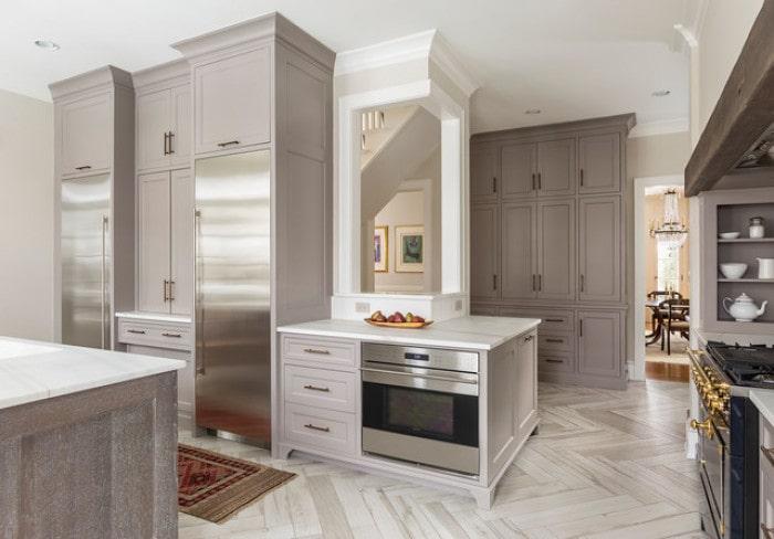 Mẫu bếp dành cho biệt thự hiện đại đẹp mê mẩn 10