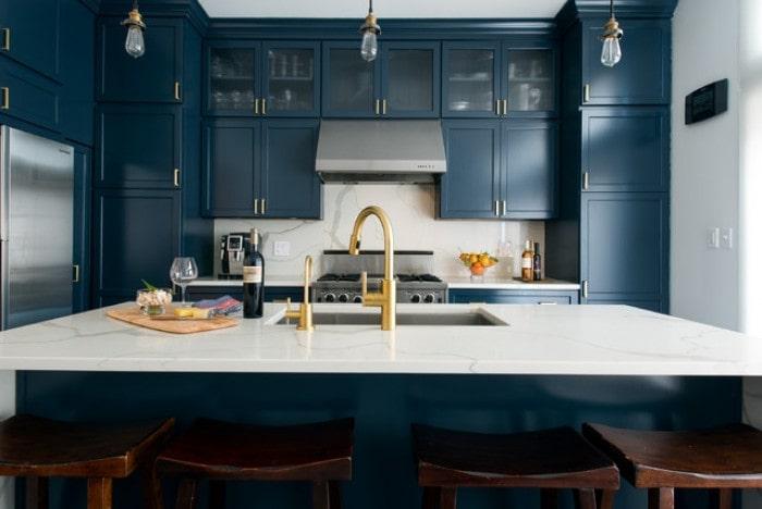 Mẫu bếp dành cho biệt thự hiện đại đẹp mê mẩn 5