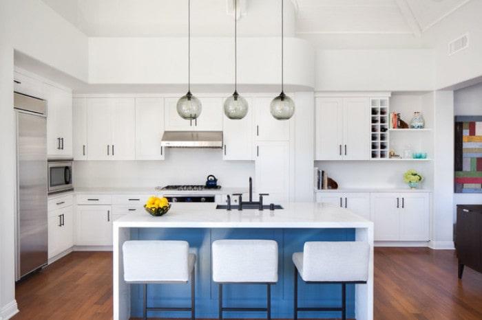 Mẫu bếp dành cho biệt thự hiện đại đẹp mê mẩn 6