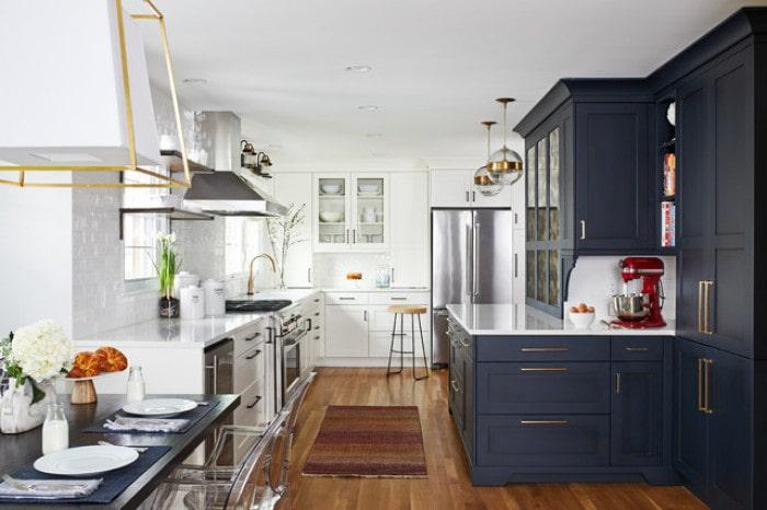 Mẫu bếp dành cho biệt thự hiện đại đẹp mê mẩn 8