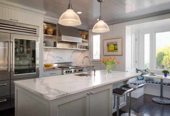Mẫu bếp dành cho biệt thự hiện đại đẹp mê mẩn 9