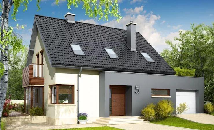 Mẫu biệt thự 126 m2 đơn giản mà đẹp phong cách Ba Lan-2