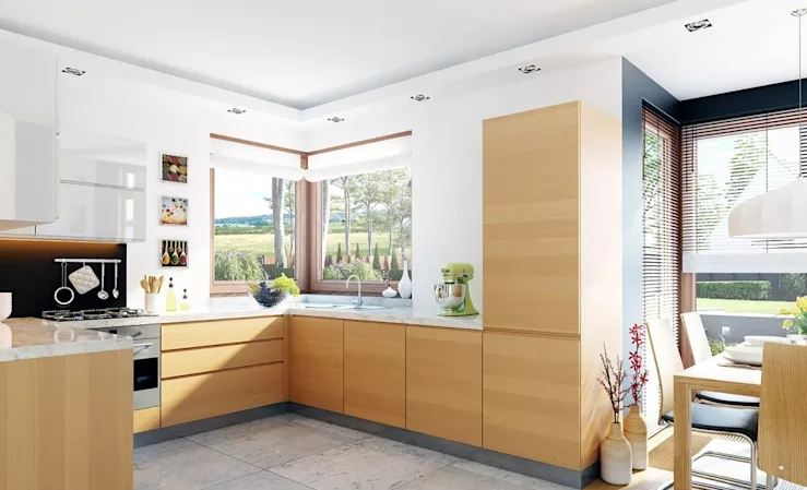 Mẫu biệt thự 126 m2 đơn giản mà đẹp phong cách Ba Lan-4