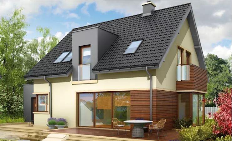 Mẫu biệt thự 126 m2 đơn giản mà đẹp phong cách Ba Lan-5