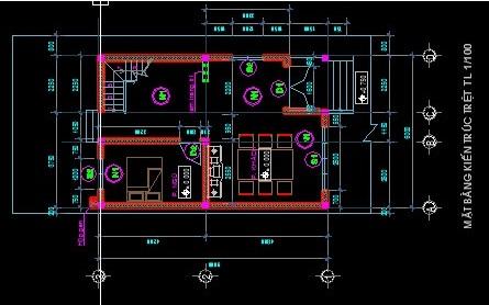 Mẫu thiết kế biệt thự 2 tầng mái thái đẹp 2