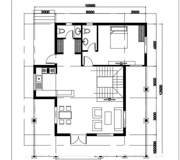 Mẫu biệt thự đẹp 2 tầng hiện đại 10x12m. 1