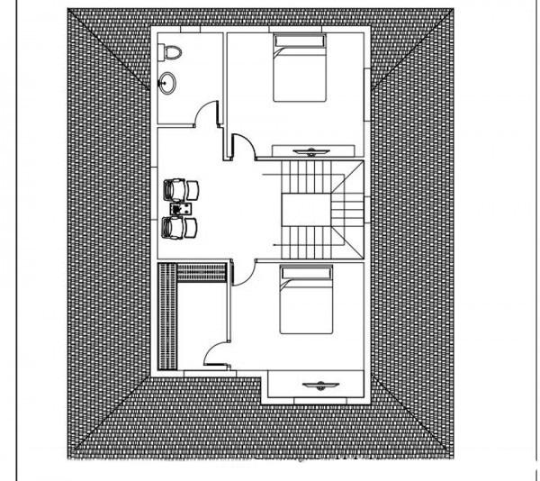 Mẫu biệt thự đẹp 2 tầng hiện đại 10x12m. 2