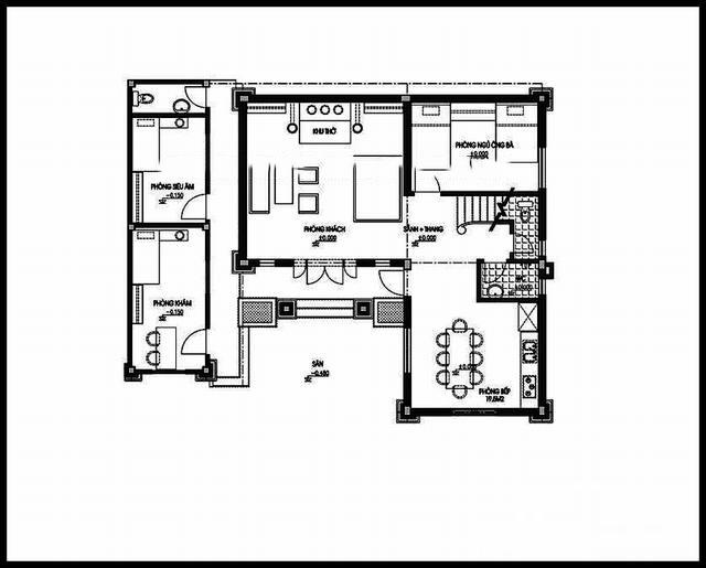 Mẫu biệt thự đẹp 3 tầng phong cách châu âu. 1