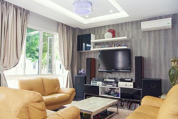 Thiết kế mẫu biệt thự đẹp 2 tầng giản dị và xanh mát với sân vườn trong lành - 2