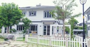 Mẫu biệt thự đẹp giản dị và xanh mát