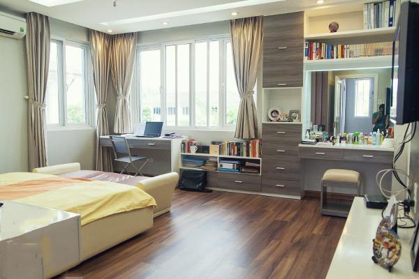 Thiết kế mẫu biệt thự đẹp 2 tầng giản dị và xanh mát với sân vườn trong lành - 5