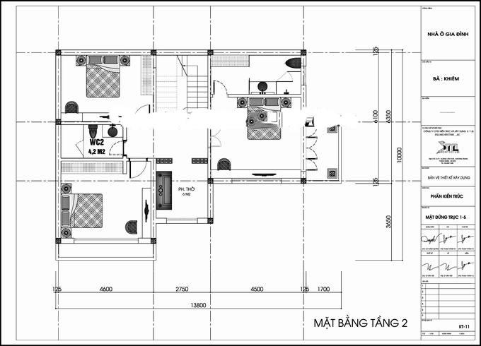 Mẫu biệt thự đẹp mini 2 tầng hiện đại. 2