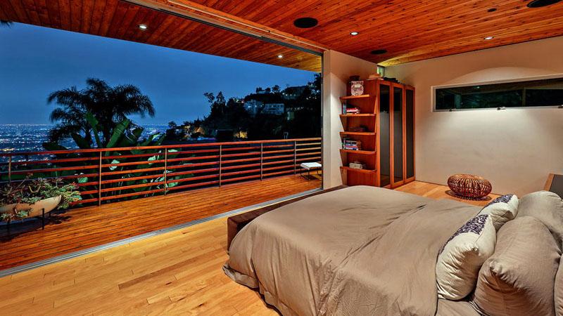 Mẫu biệt thự đẹp ốp gỗ trên đồi Hollywood - 08