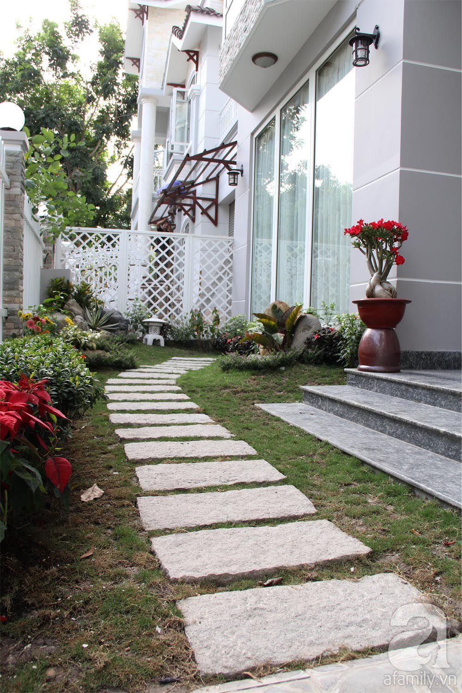 Sân vườn - Mẫu biệt thự đẹp sang trọng đáng mơ ước