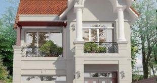 Mẫu biệt thự mái thái 2 tầng tiện nghi 1
