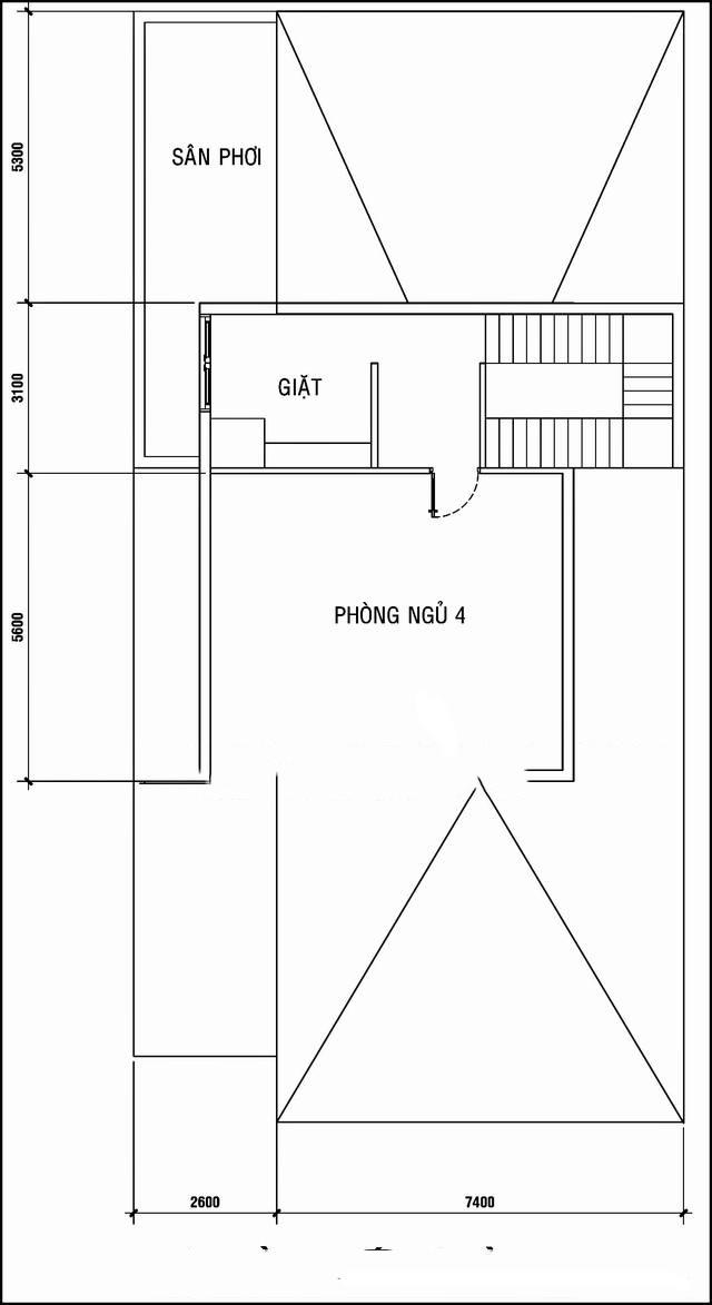 Mẫu biệt thự phố đẹp 3 tầng hiện đại 10x20m. 3