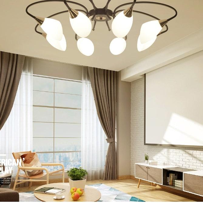 Mẫu đèn nội thất tuyệt vời cho nhà biệt thự đẹp 1