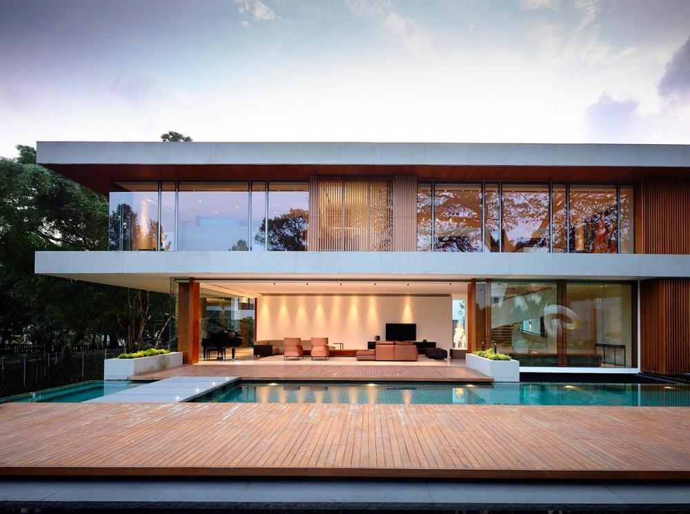Mẫu thiết kế biệt thự 2 tầng đẹp 2
