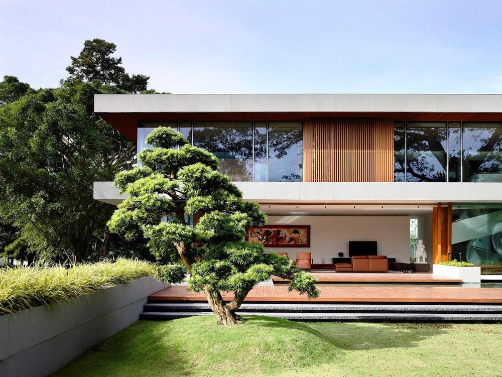 Mẫu thiết kế biệt thự 2 tầng đẹp 6