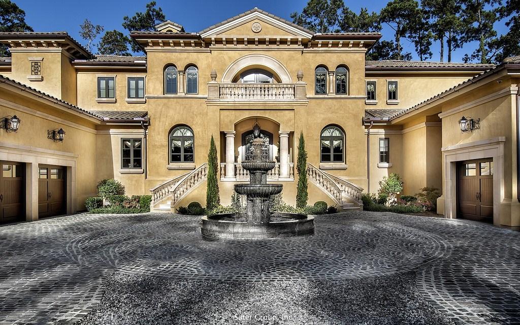 Mẫu thiết kế biệt thự 2 tầng kiểu Pháp đẹp tinh tế 1