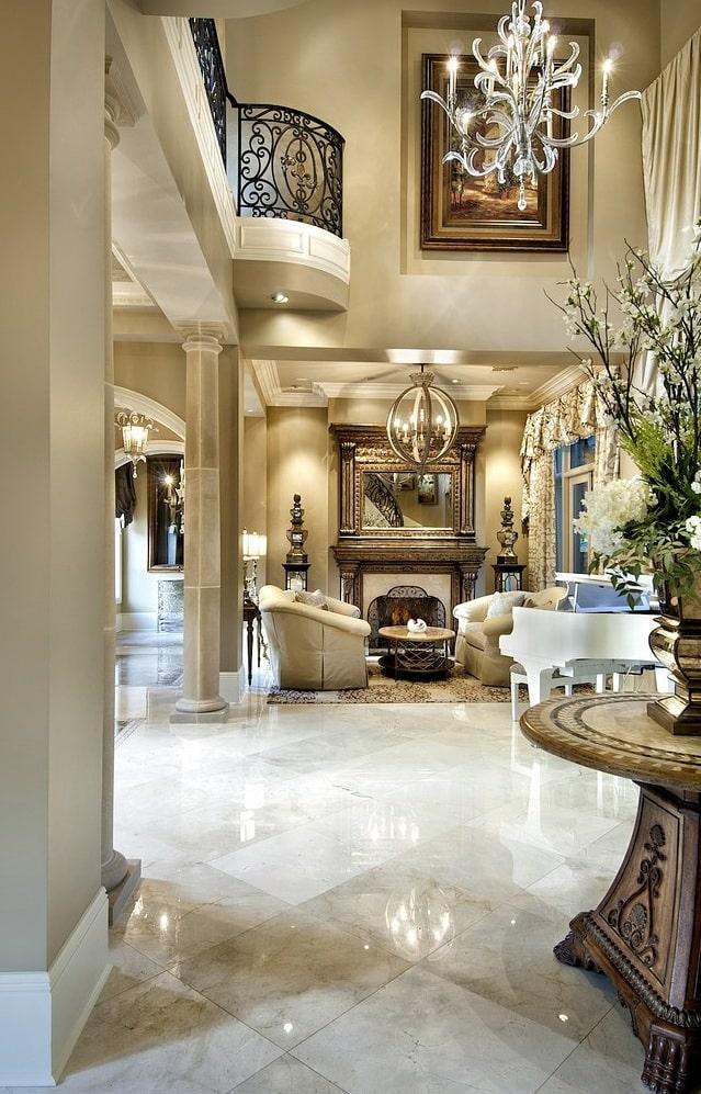 Mẫu thiết kế biệt thự 2 tầng kiểu Pháp đẹp tinh tế 8