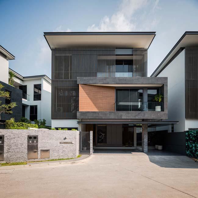 Mẫu thiết kế biệt thự 3 tầng hiện đại đơn giản 1