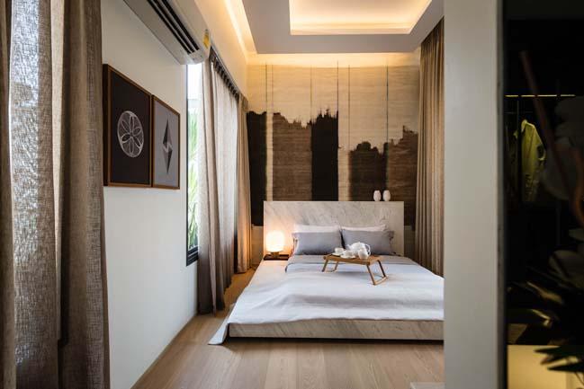 Mẫu thiết kế biệt thự 3 tầng hiện đại đơn giản 11