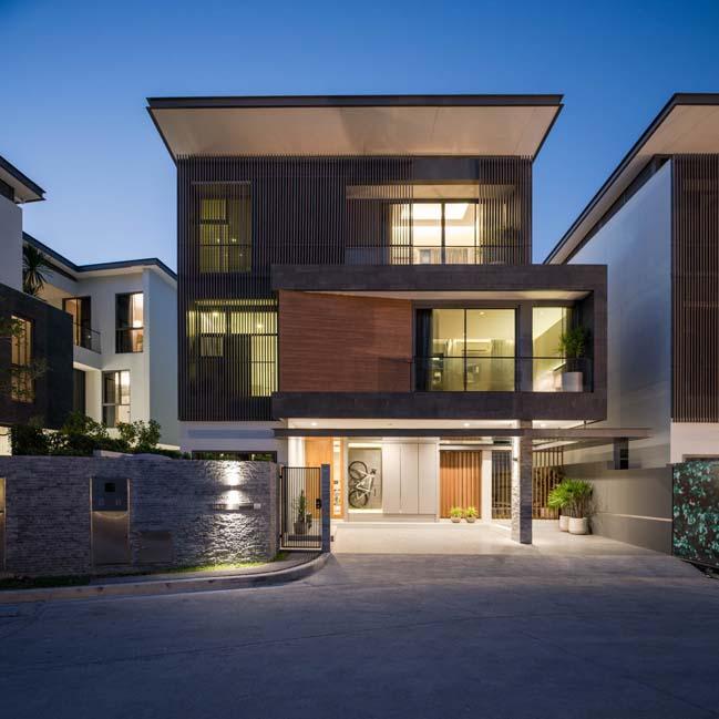Mẫu thiết kế biệt thự 3 tầng hiện đại đơn giản 2