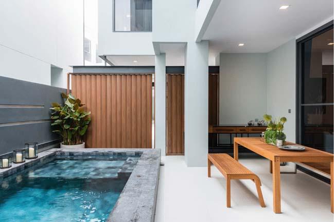 Mẫu thiết kế biệt thự 3 tầng hiện đại đơn giản 6