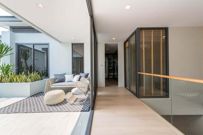Mẫu thiết kế biệt thự 3 tầng hiện đại đơn giản 8