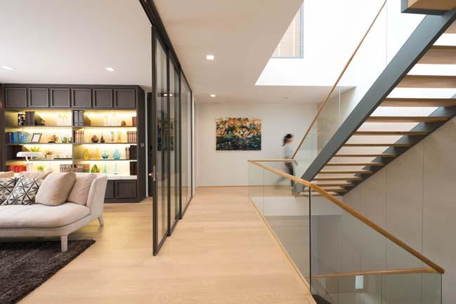 Mẫu thiết kế biệt thự 3 tầng hiện đại đơn giản 9