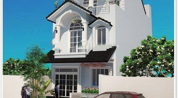 Mẫu thiết kế biệt thự 3 tầng kiểu Pháp 6x15m