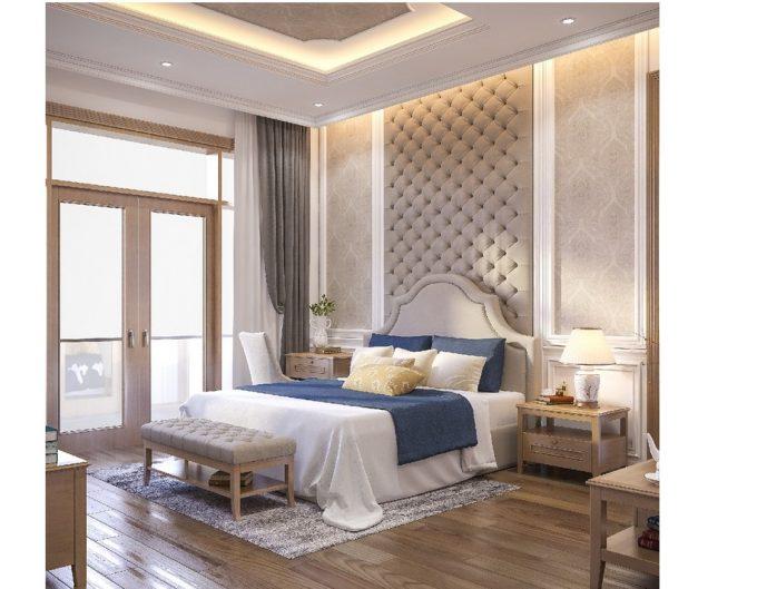 Mẫu thiết kế biệt thự đẹp diện tích 120m2 ở Bắc Giang - Phòng ngủ 2