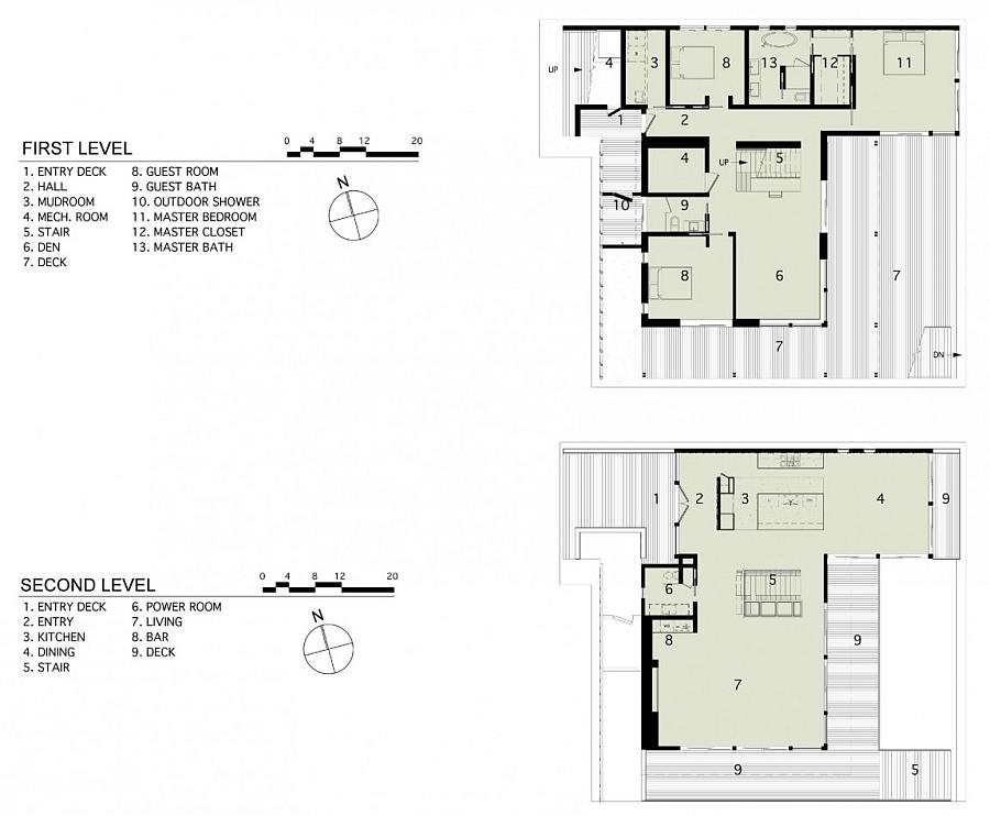 Thiết kế biệt thự đẹp 2 tầng hiện đại bằng kính tại Thái Lan không gian rộng mở - 8