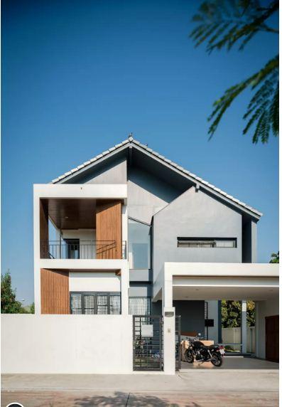 Mẫu thiết kế biệt thự đẹp 2 tầng hiện đại. 2