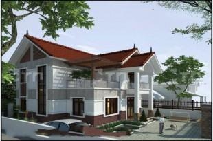 Mẫu thiết kế biệt thự đẹp 2 tầng hiện đại 11x13,5m