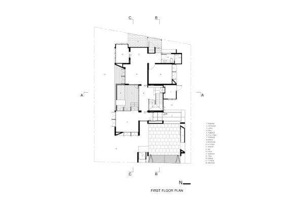 Mẫu thiết kế biệt thự đẹp 2 tầng hiện đại. 4