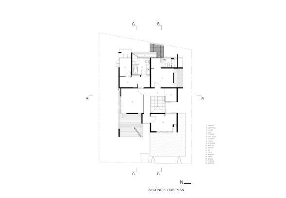 Mẫu thiết kế biệt thự đẹp 2 tầng hiện đại. 5